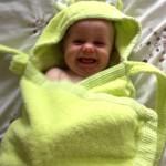 Minene Cuddly Hooded Towel