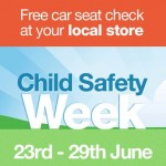 Halfords to offer free safety checks on ANY child car seat during Child Safety Week