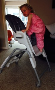 oxo tot seedling high chair, graphite (first impressions) - what