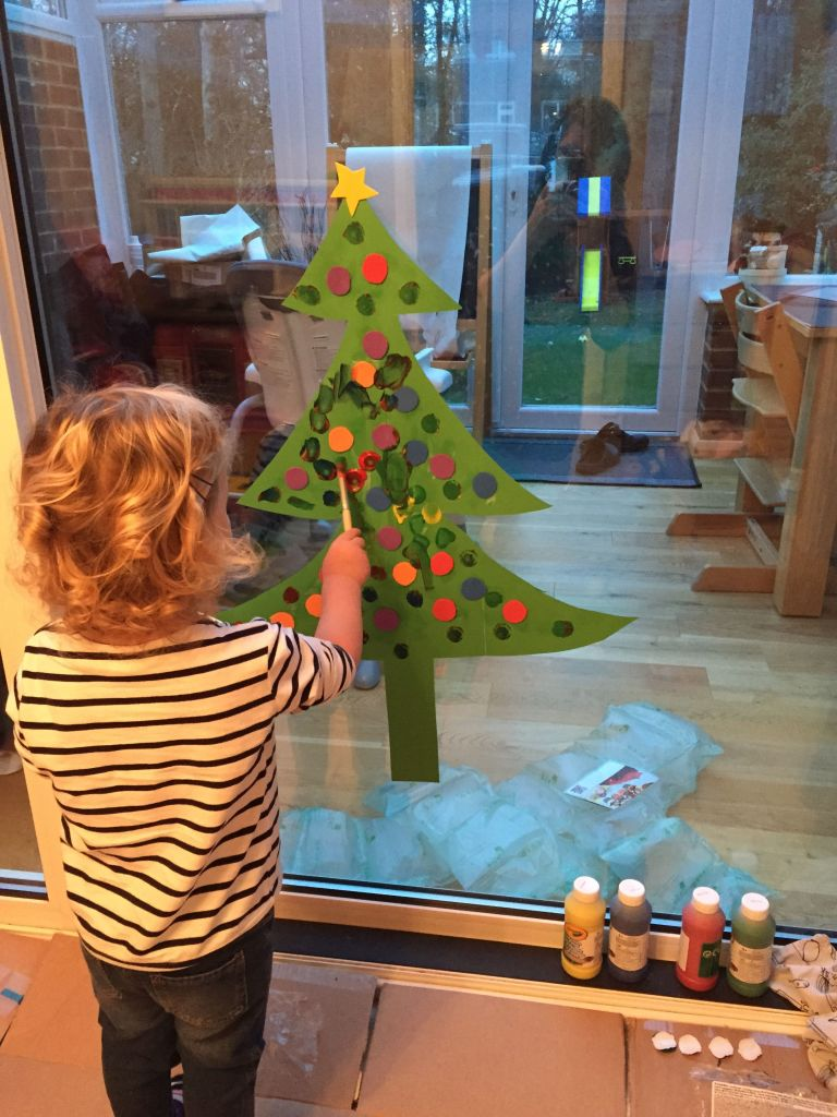 Decorate your own Christmas tree - What Mummy Thinks