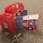 Fire Station Activity Book and Playset: Book Buddies Review