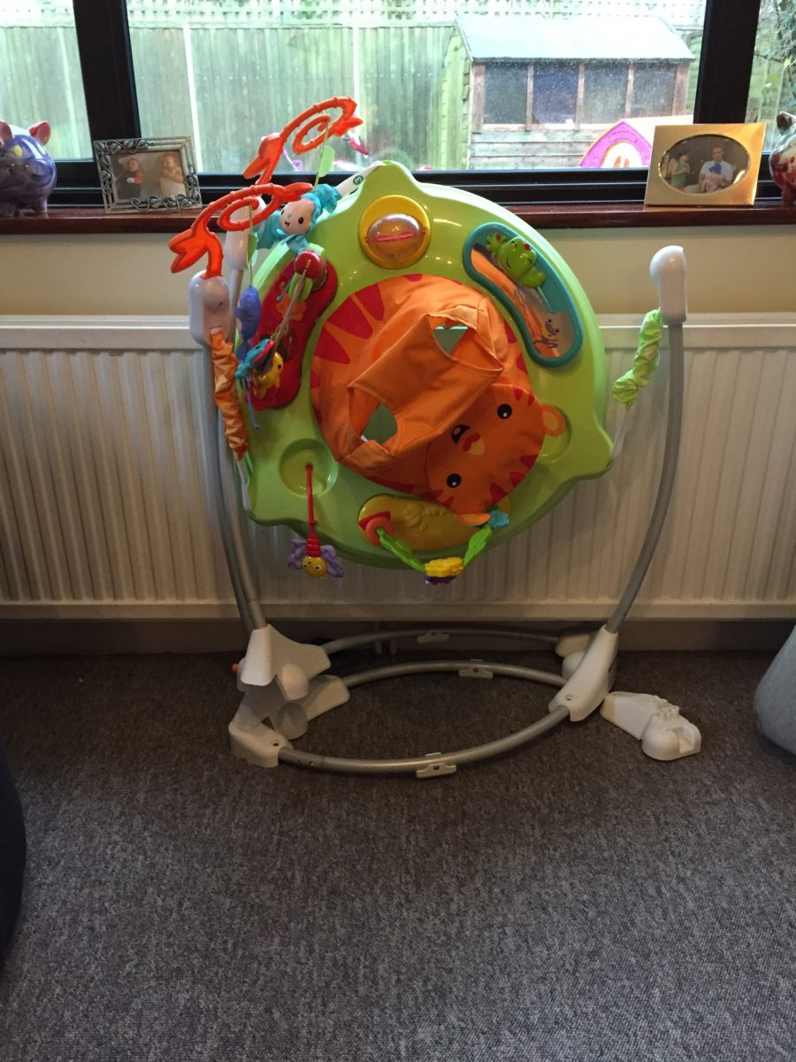 Fisher-Price Roarin' Rainforest Jumperoo: Review - What Mummy Thinks