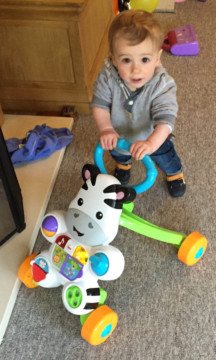 Fisher-Price Learn with Me Zebra Walker - What Mummy Thinks