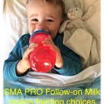 SMA® PRO Follow-on Milk makes feeding choices easier for parents