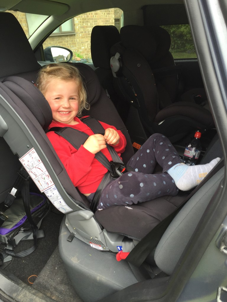 Radian 5 Extended Rear Facing Car Seat