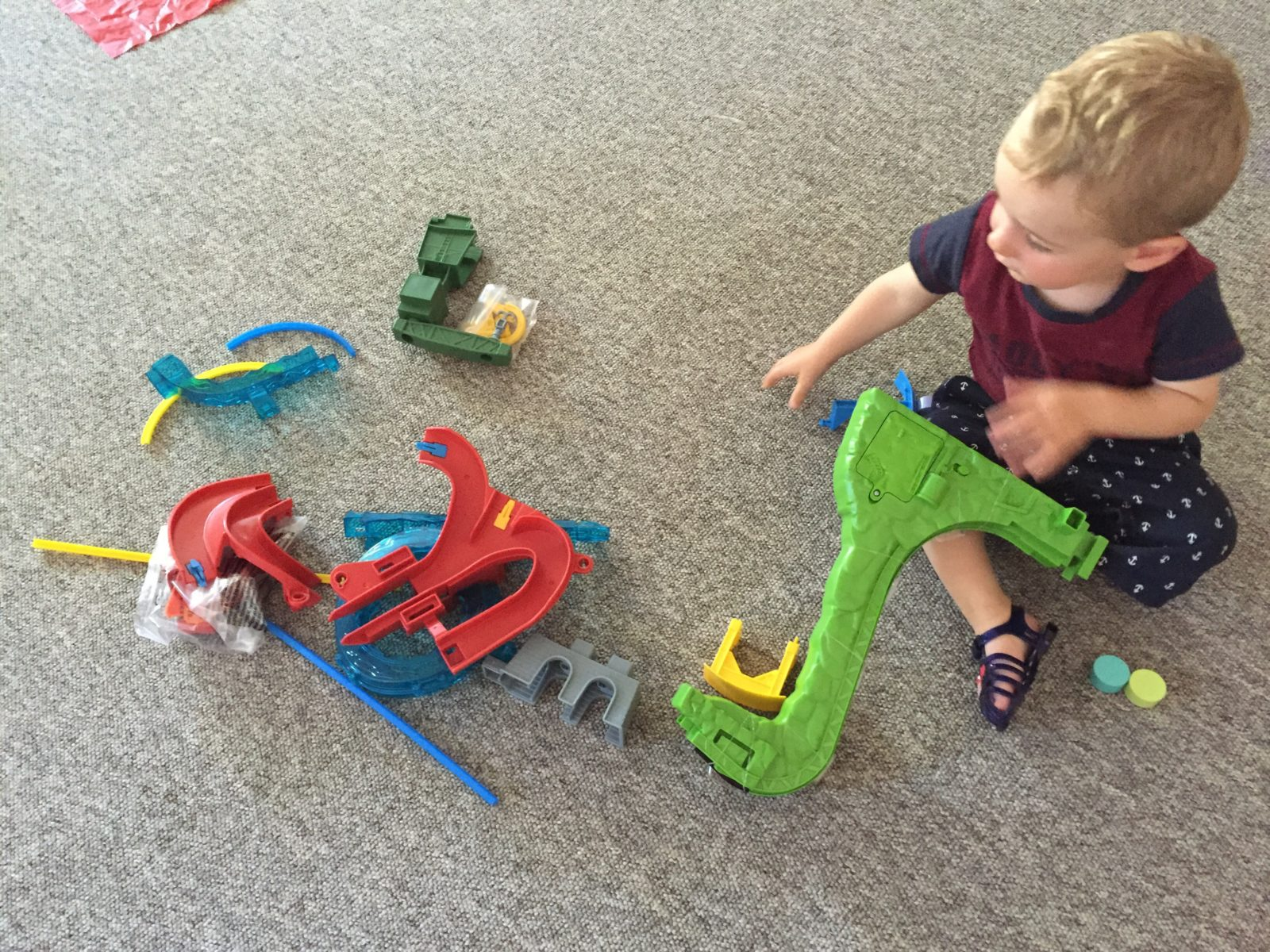 Thomas & Friends MINIS Motorized Raceway Review What Mummy Thinks