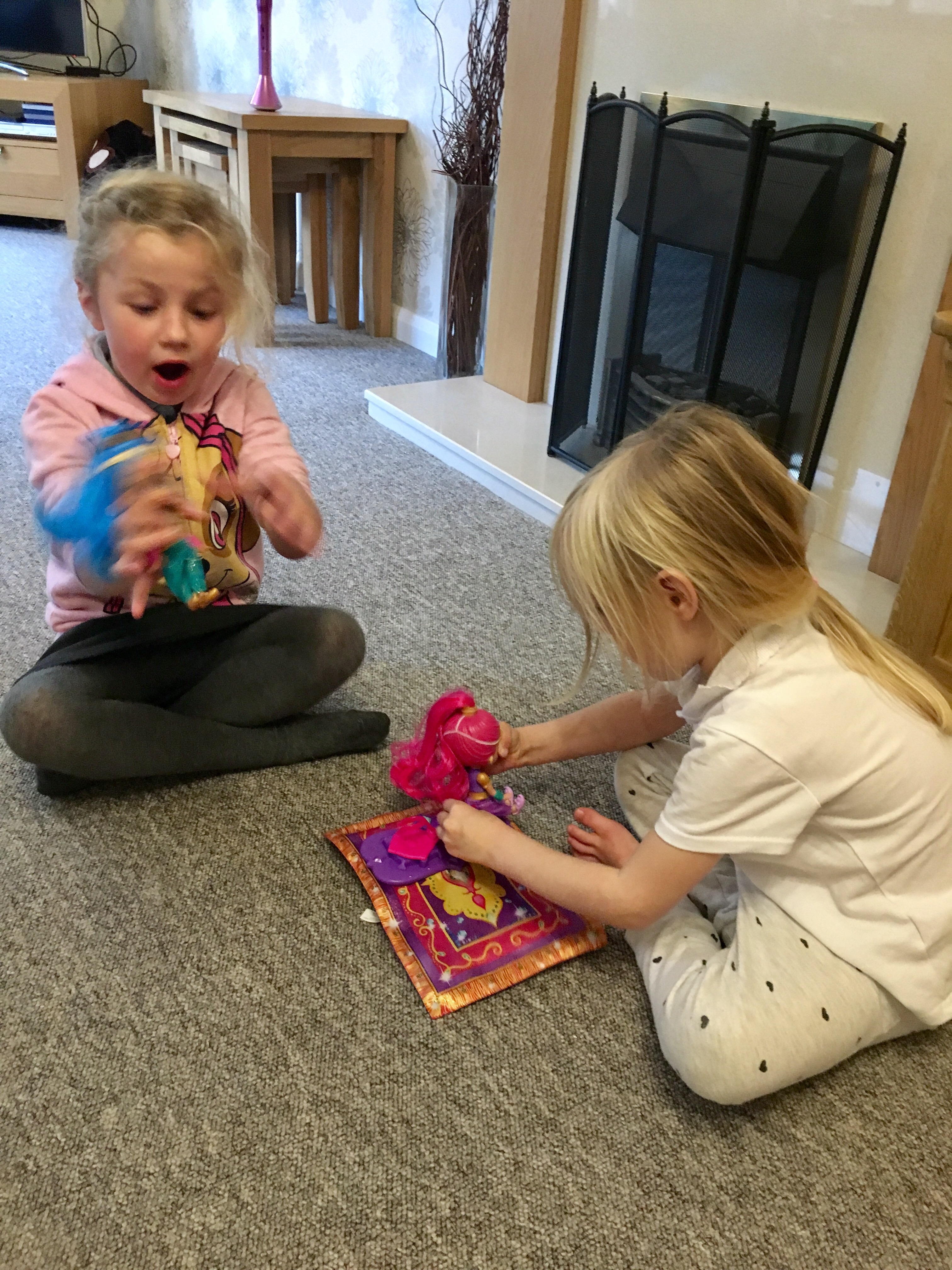 Shimmer and Shine Magic Carpet Review: Fisher Price