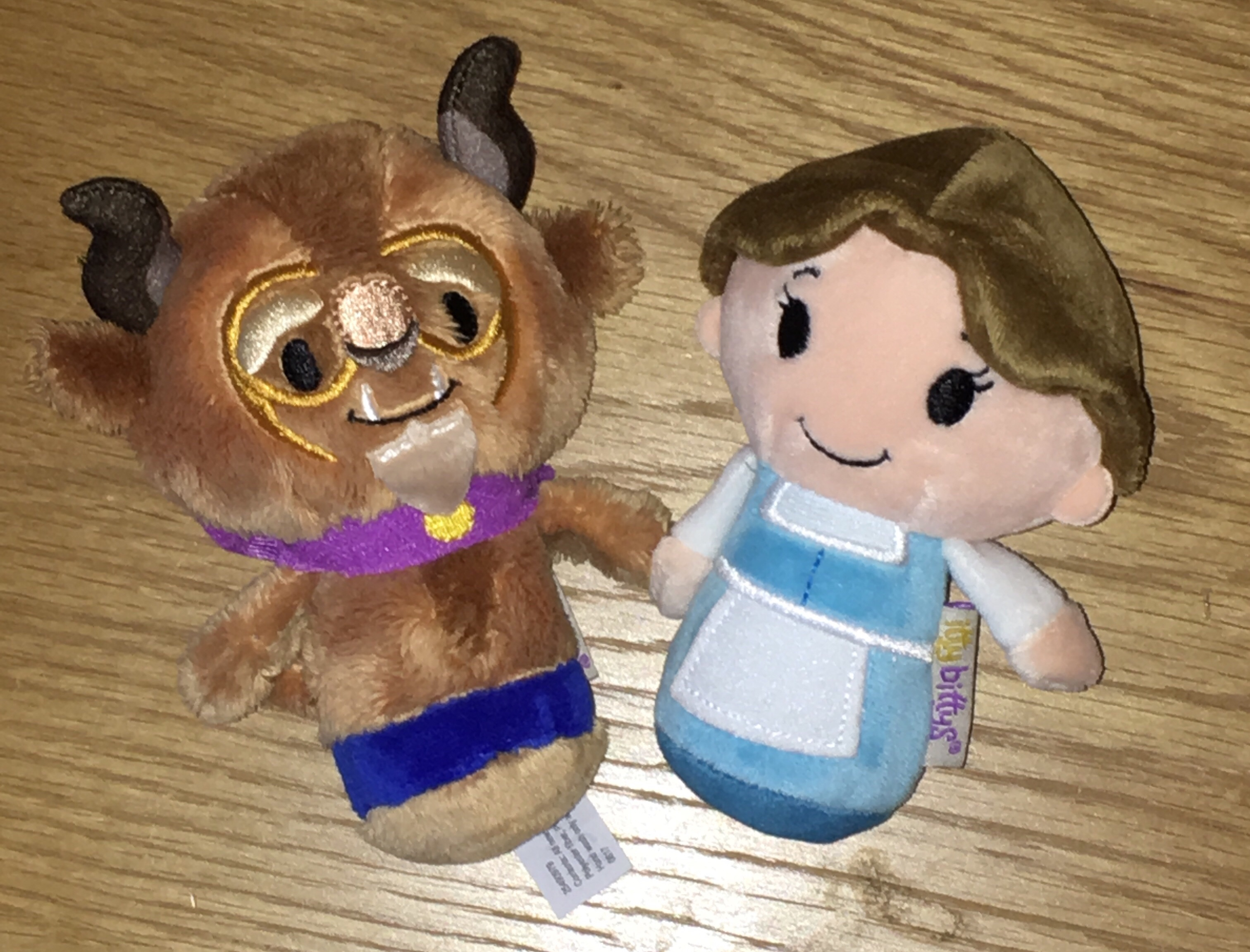 Belle and The Beast Itty Bittys