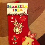 Make your own personalised Christmas stocking