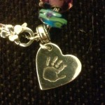 Precious Fingerprint Jewellery Small Hand/Footprint Charm