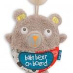 Baby Bear On Board Car Sign
