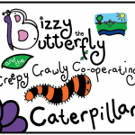 'Bizzy the Butterfly and the Creepy Crawly Co-operating Caterpillar'  Bookeo
