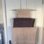 OXO GOOD GRIPS OVER-THE-DOOR TOWEL RACK