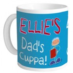 Win a personalised mug for Father's Day