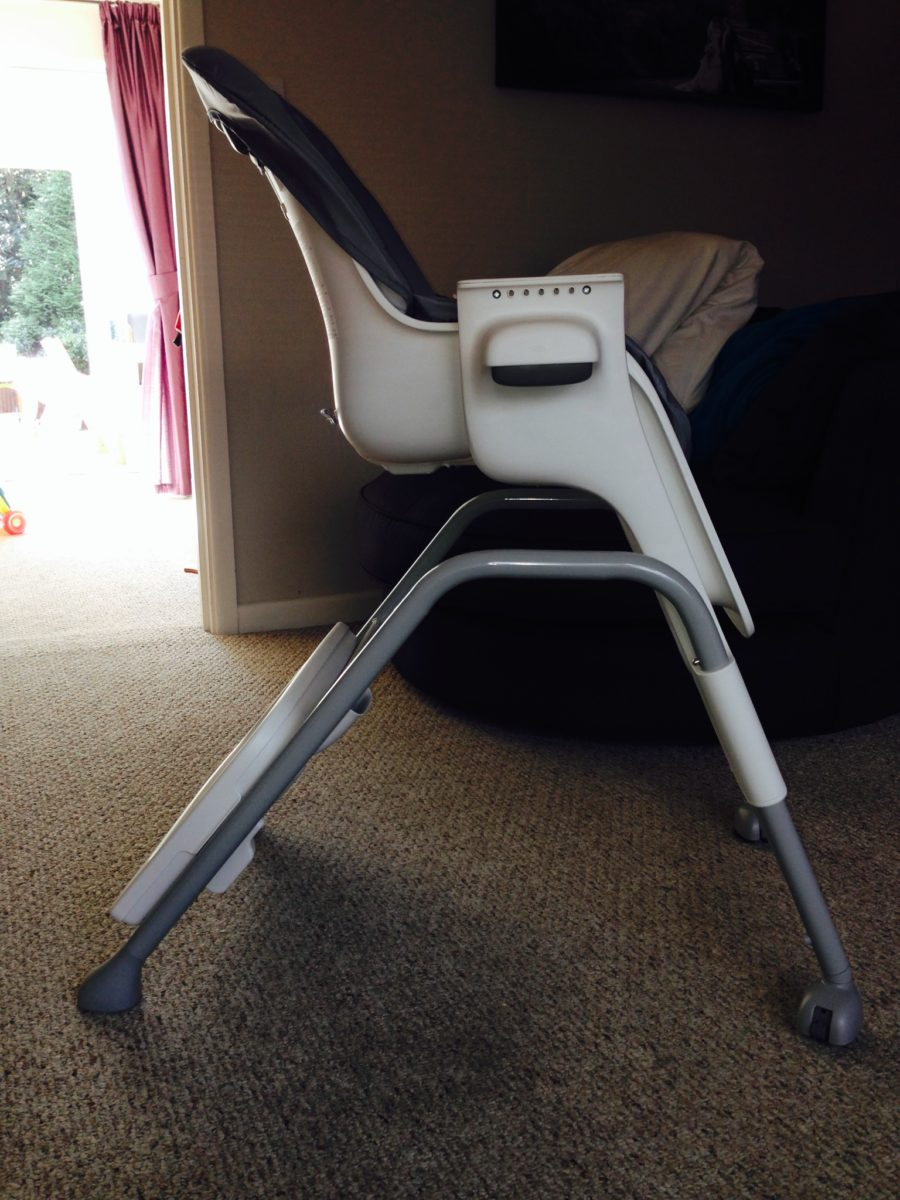 Oxo Tot Seedling High Chair Graphite First Impressions