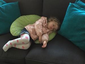 FAST asleep after long walks