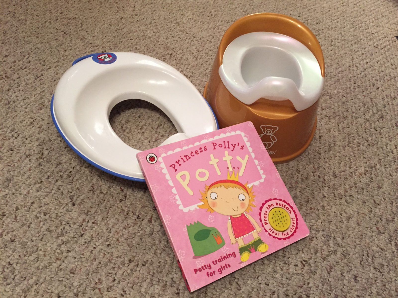 Potty training problems 3 weeks in - What Mummy Thinks