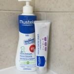 Mustela Dermo-Cleansing Gel and Vitamin Barrier Cream 1-2-3