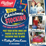 Ridley's Retro Xmas Giveaway – take a trip down memory lane