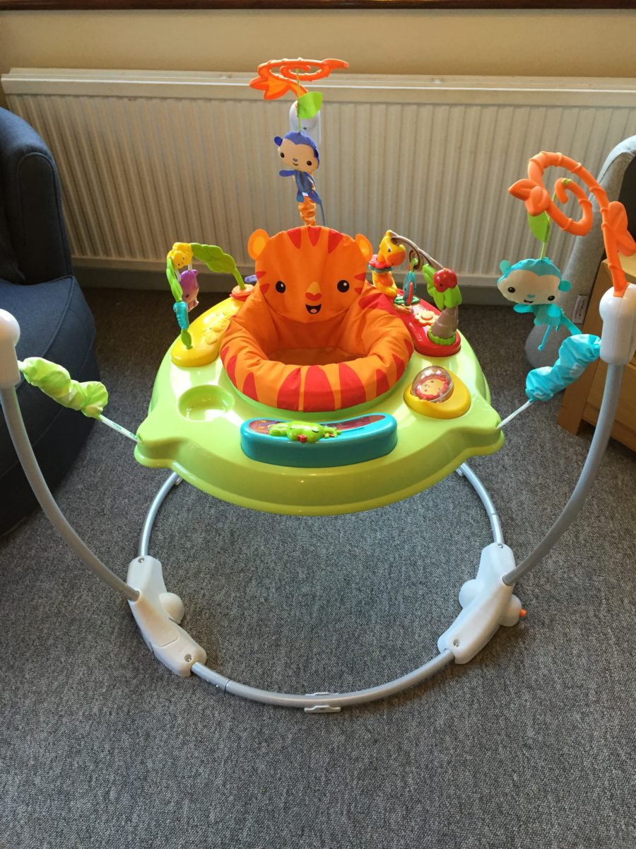 Rainforest jumperoo review