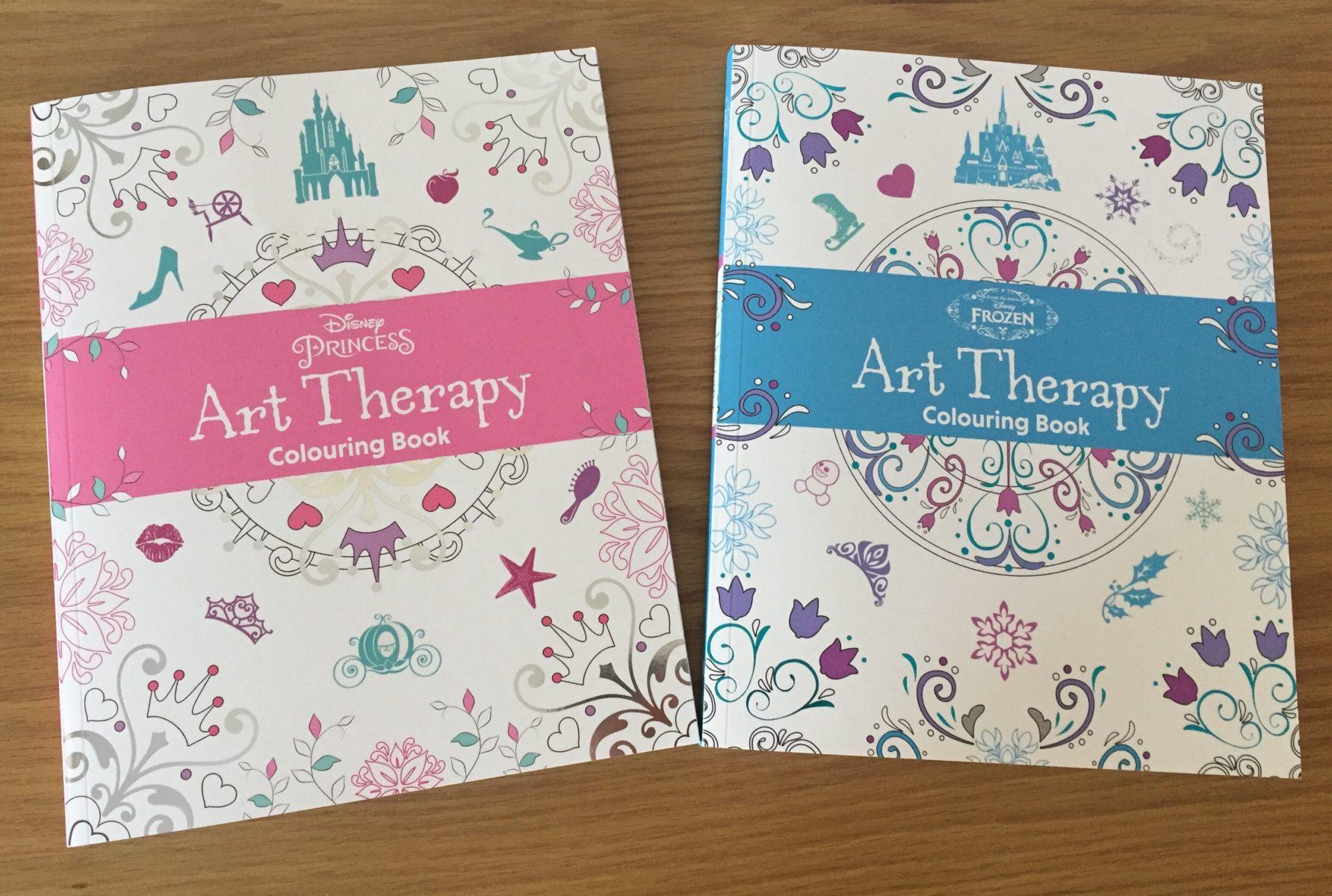 Parragon Book Buddies Disney Art Therapy What Mummy Thinks