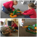 Fisher-Price Thomas & Friends Take-n-Play Jungle Quest Set.