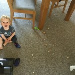 Keeping the house tidy with kids!