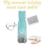 My summer holiday must have outfit