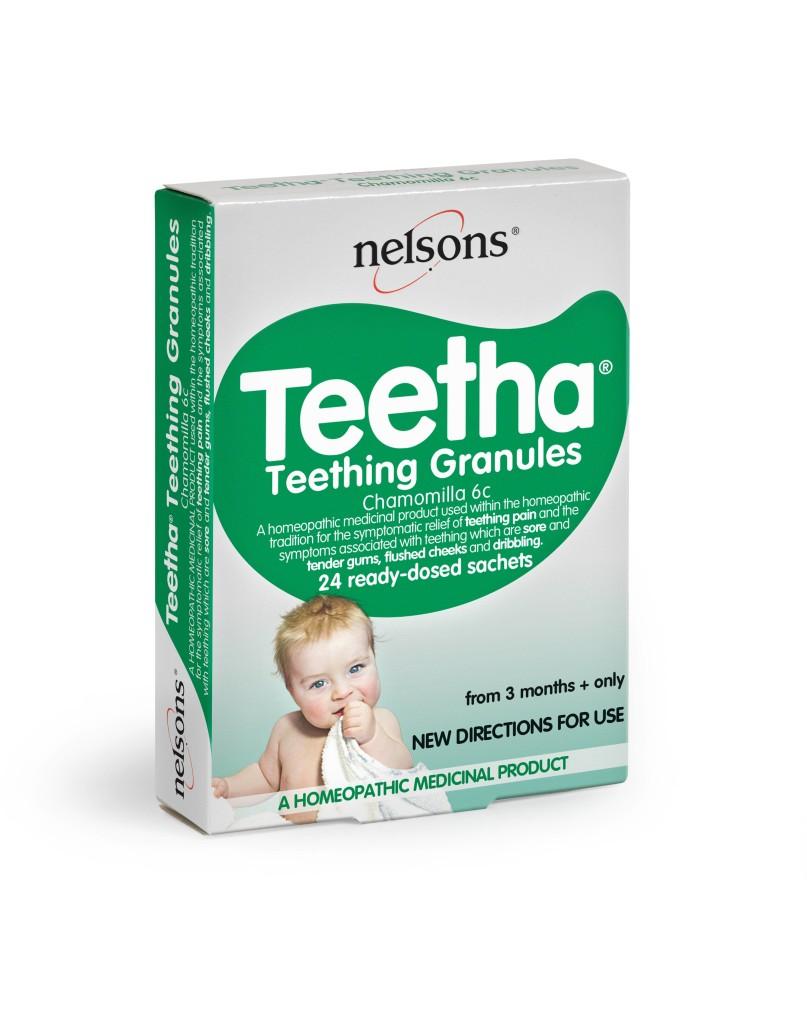 Nelsons Teetha Teething Granules - render