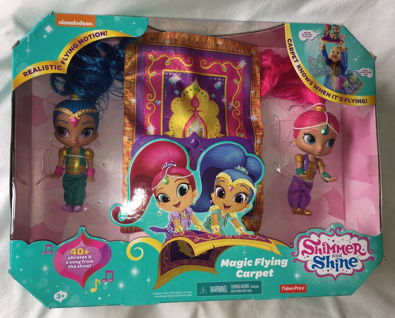 Shimmer And Shine Magic Carpet Review Fisher Price What