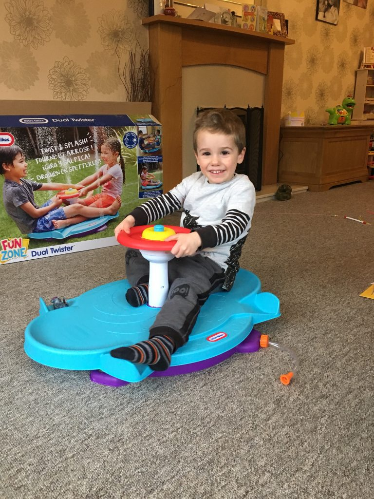 Little Tikes duel twister indoors